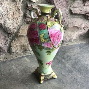 Vintage Hand Painted Vase